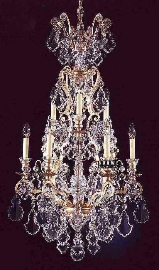 Aliexpress Com Buy Decorative Crystal Chandelier Lighting 10
