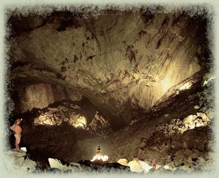 Sarawak Chamber, Gunung Mulu National Park (UNESCO World Heritage Site), Malaysia - largest known cave chamber in the world