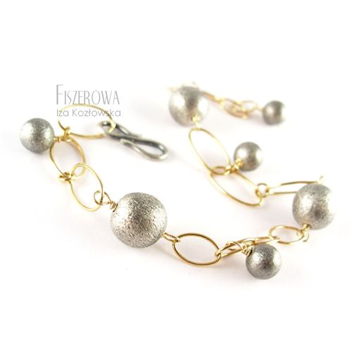 FISZEROWA - Roma - bransoleta == Biżuteria z kolekcji D'oro