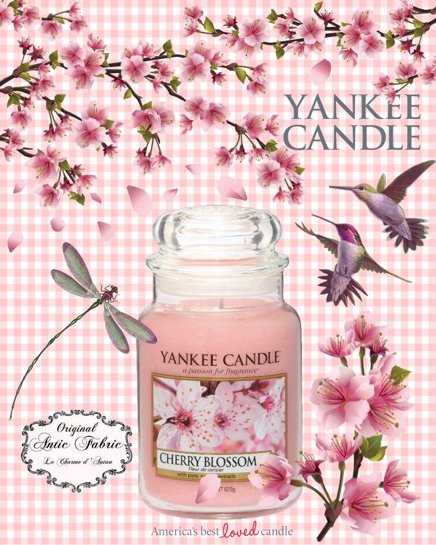 Cherry Blossom Fleur De Cerisier Bougie Yankee Candle By