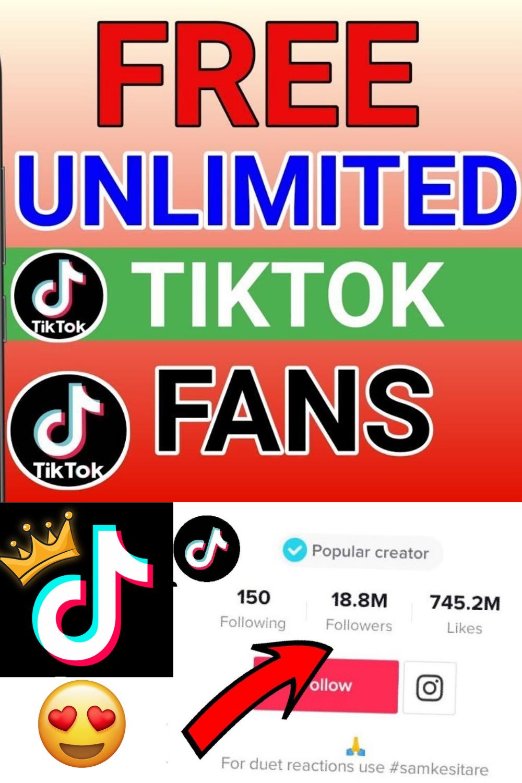 How To Get Free Followers For Tiktok 2021 Free Followers How To Get Followers Real Followers