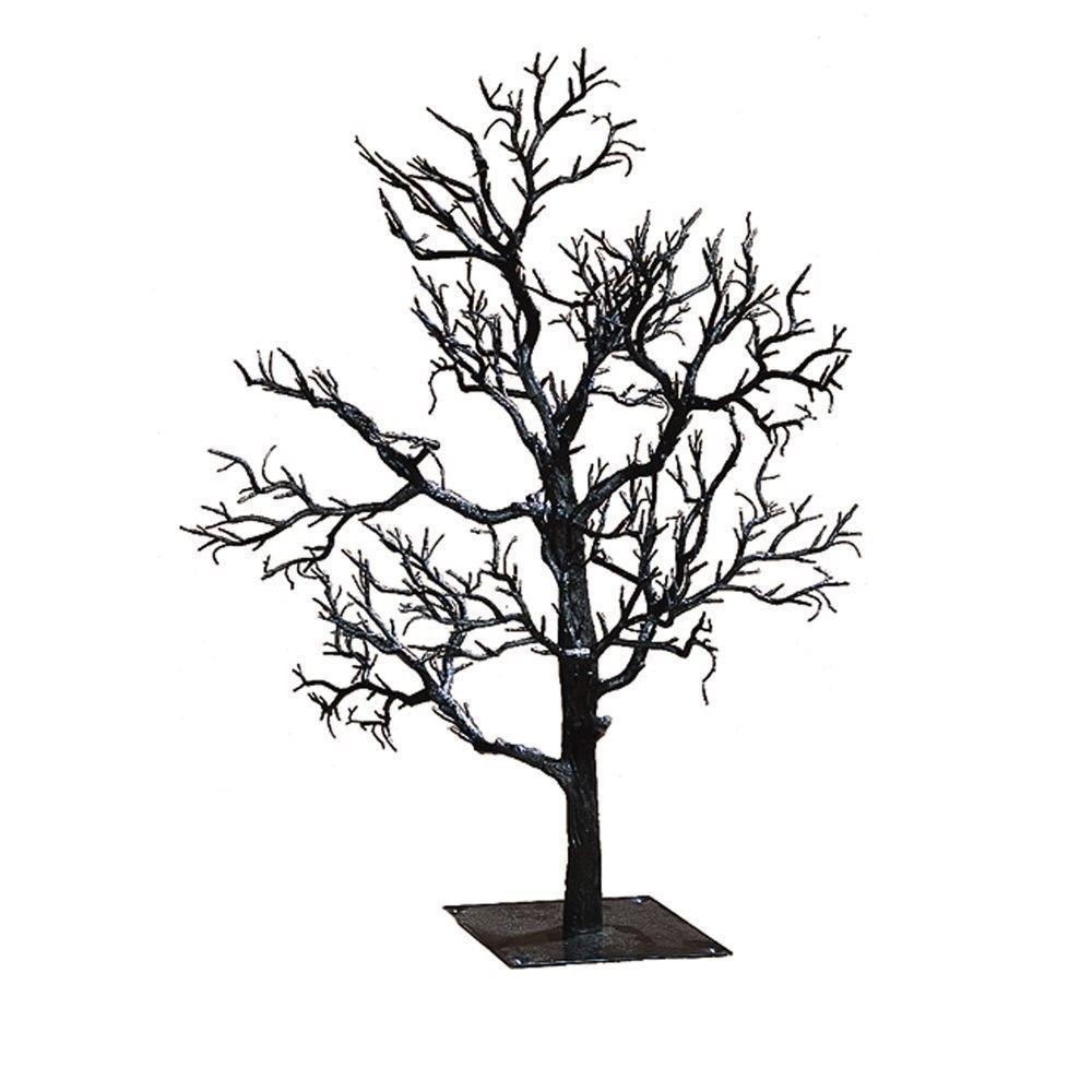 kurt adler black spooky halloween tree oe21 hw0522
