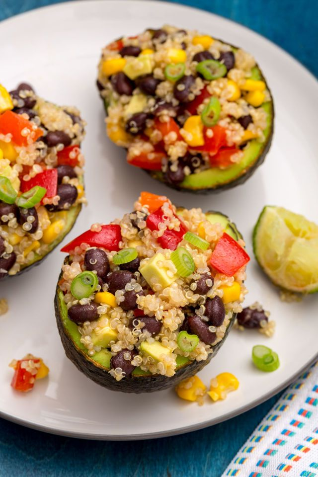 Quinoa Stuffed Avocados