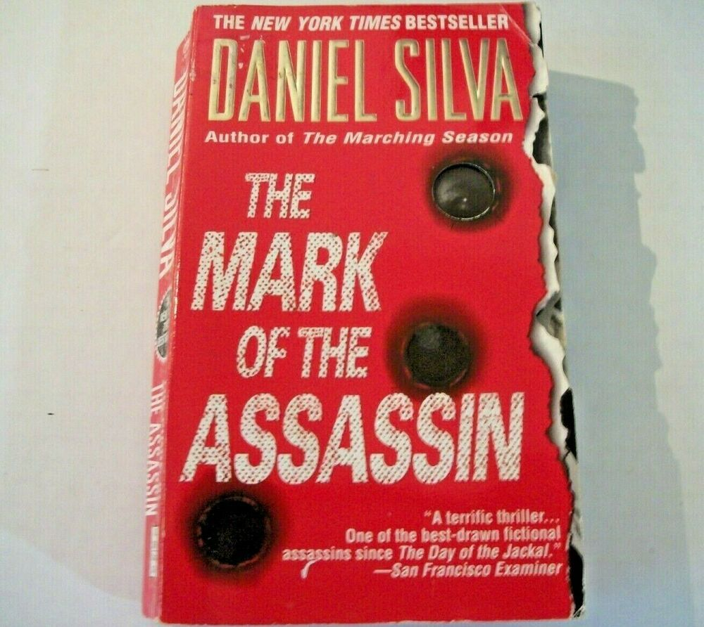 The Mark of the Assassin by Daniel Silva (1999, Paperback