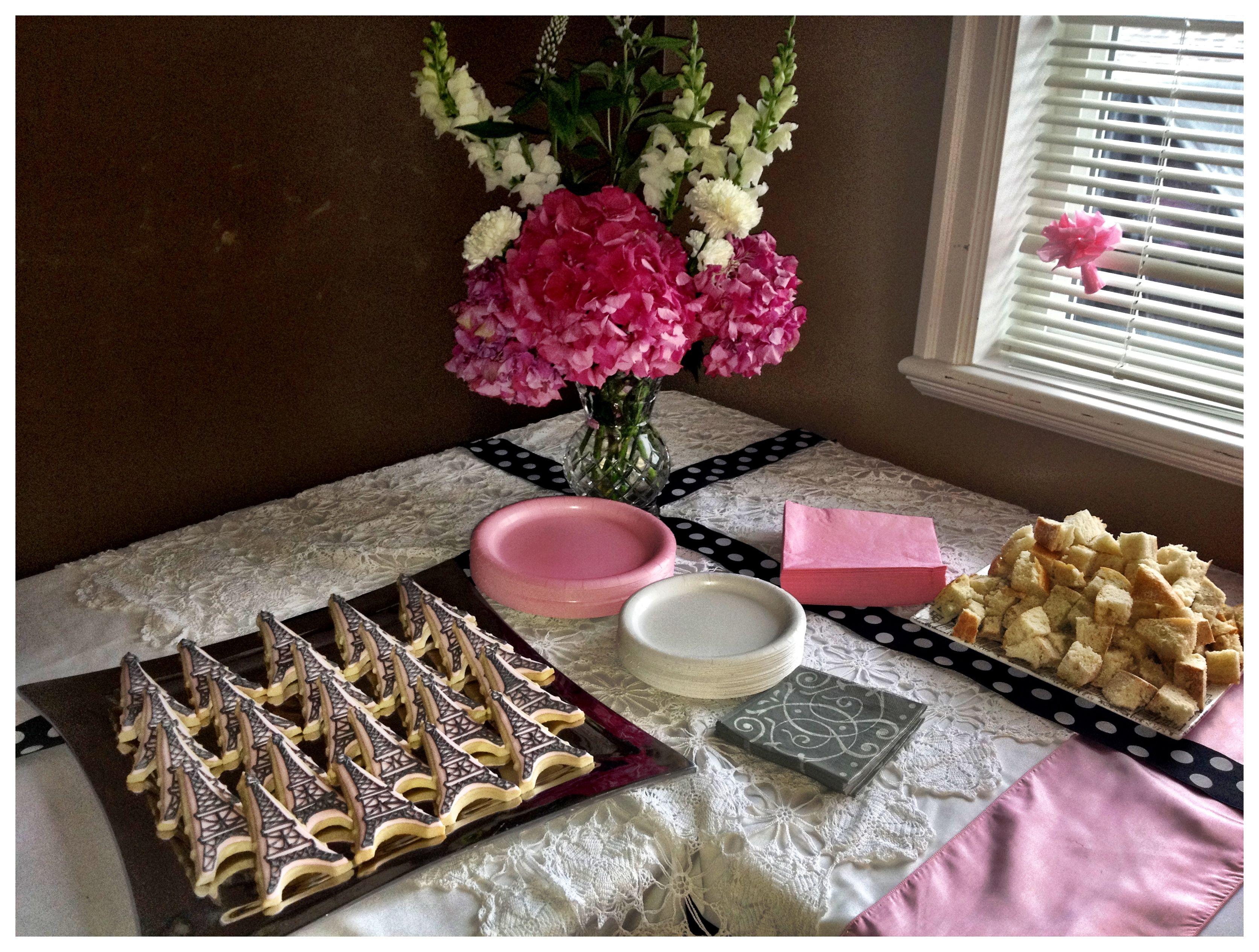 Pinterest Bridal Shower: Bridal Shower Food!