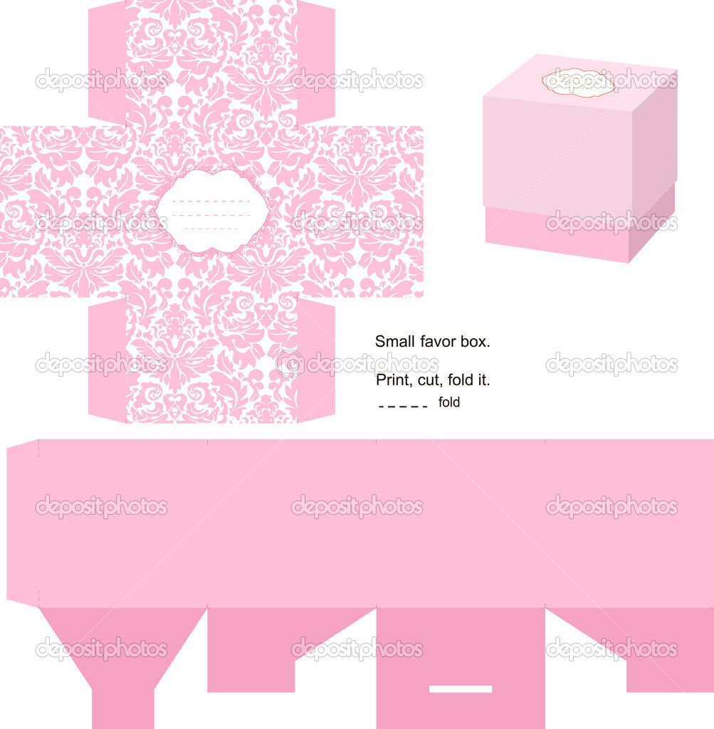 Nice Box Templates Free | Gift Box Template | Stock Vector © Inna Ogando #7352264 Inside Gift Box Template Free