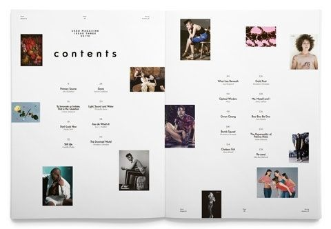 Table Of Contents Layout | Editorial: