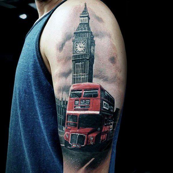 Big Ben Guys Arm Tattoo Designs | Tattoos | Pinterest ...