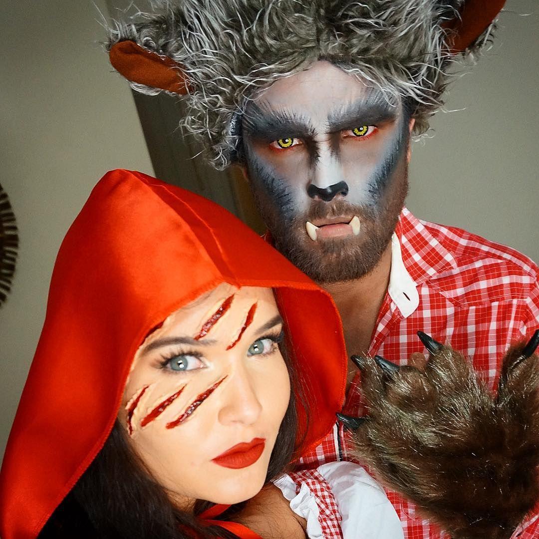 caperucita y el lobo Disfraces parejas, Disfraces