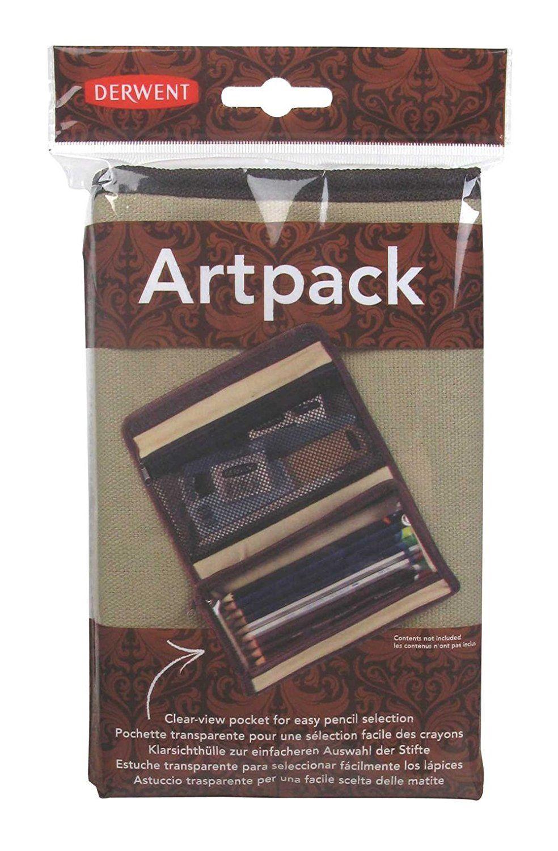 Derwent Artpack Canvas Pencil Case 2300575