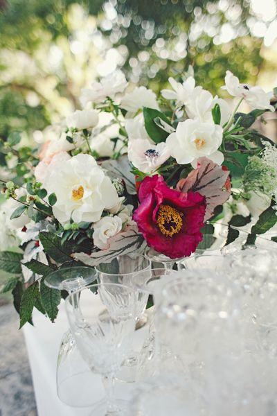 gorgeous garden centerpiece | The Nichols #wedding