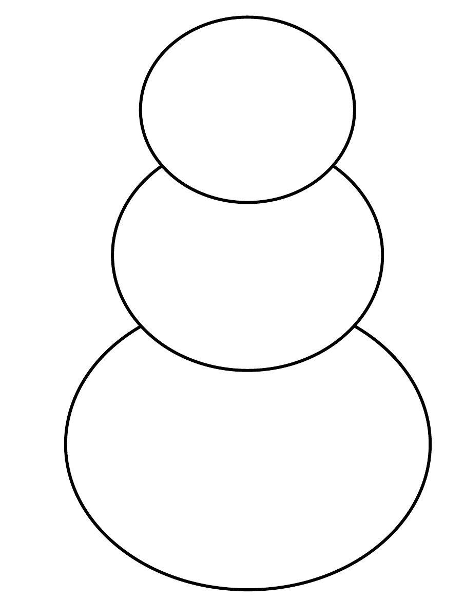 Snowman Template Scribd Snowman Crafts Preschool Christmas