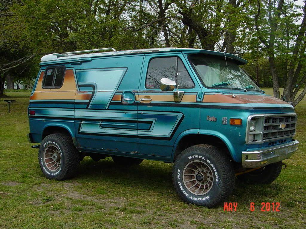 custom chevy cargo custom vans   1979 original Chevy 1 ton