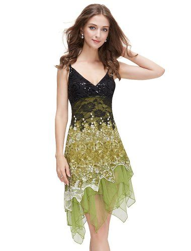 464aeecf1f52 Ever Pretty Womens Sleeveless Short Summer Bohemian Party Dress. Green