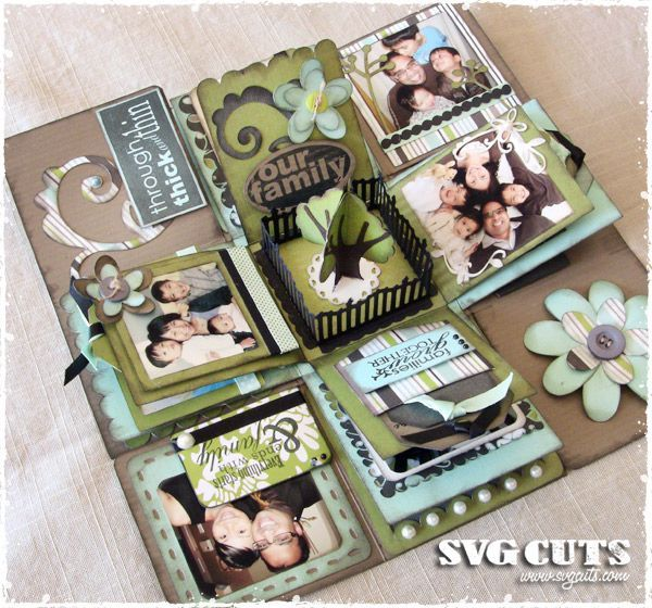 Cool Explosion Box Scrapbooking Ideas Pinterest Handmade