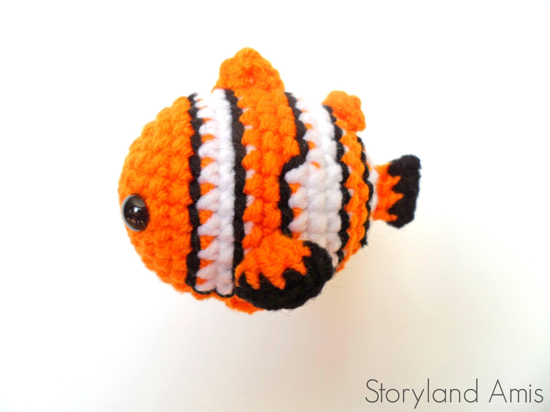 Nemo Crochet Pattern