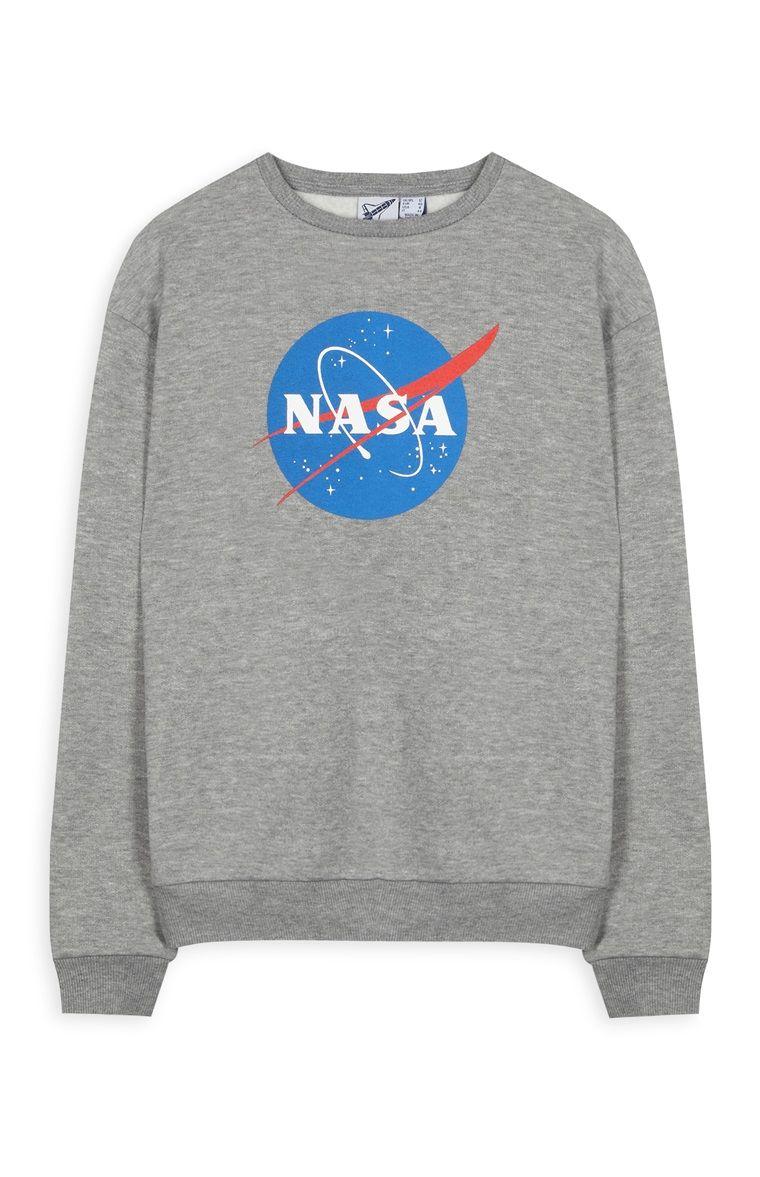 PRIMARK    Grey  NASA  sweater   Jersey gris  NASA     3  3  3 ... 7c2817abc8
