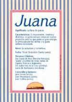 Juana Significado De Juana Tuparada Com Significados De Los Nombres Nombres De Mujer Españoles Imágenes De Nombres