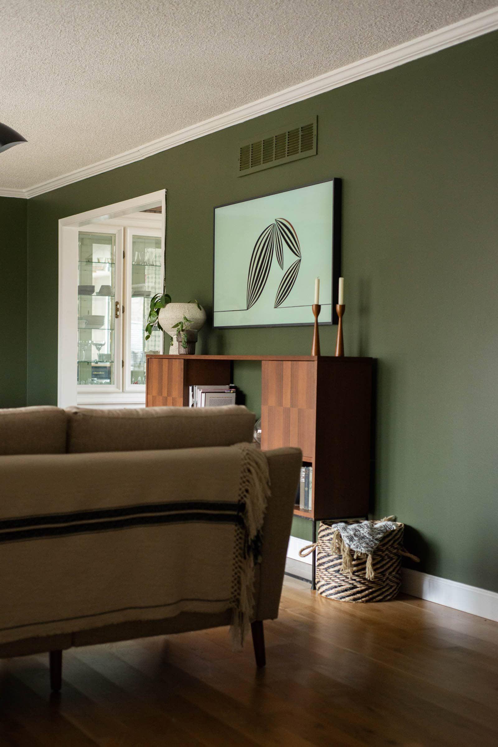 Forest Green Living Room Living Room Green Living Room Paint Living Room Designs Green color living room