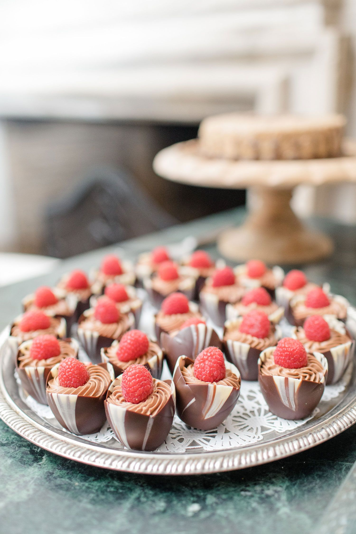 Chocolate Mousse Recipe Small Bite Summer Party Ideas Entertaining