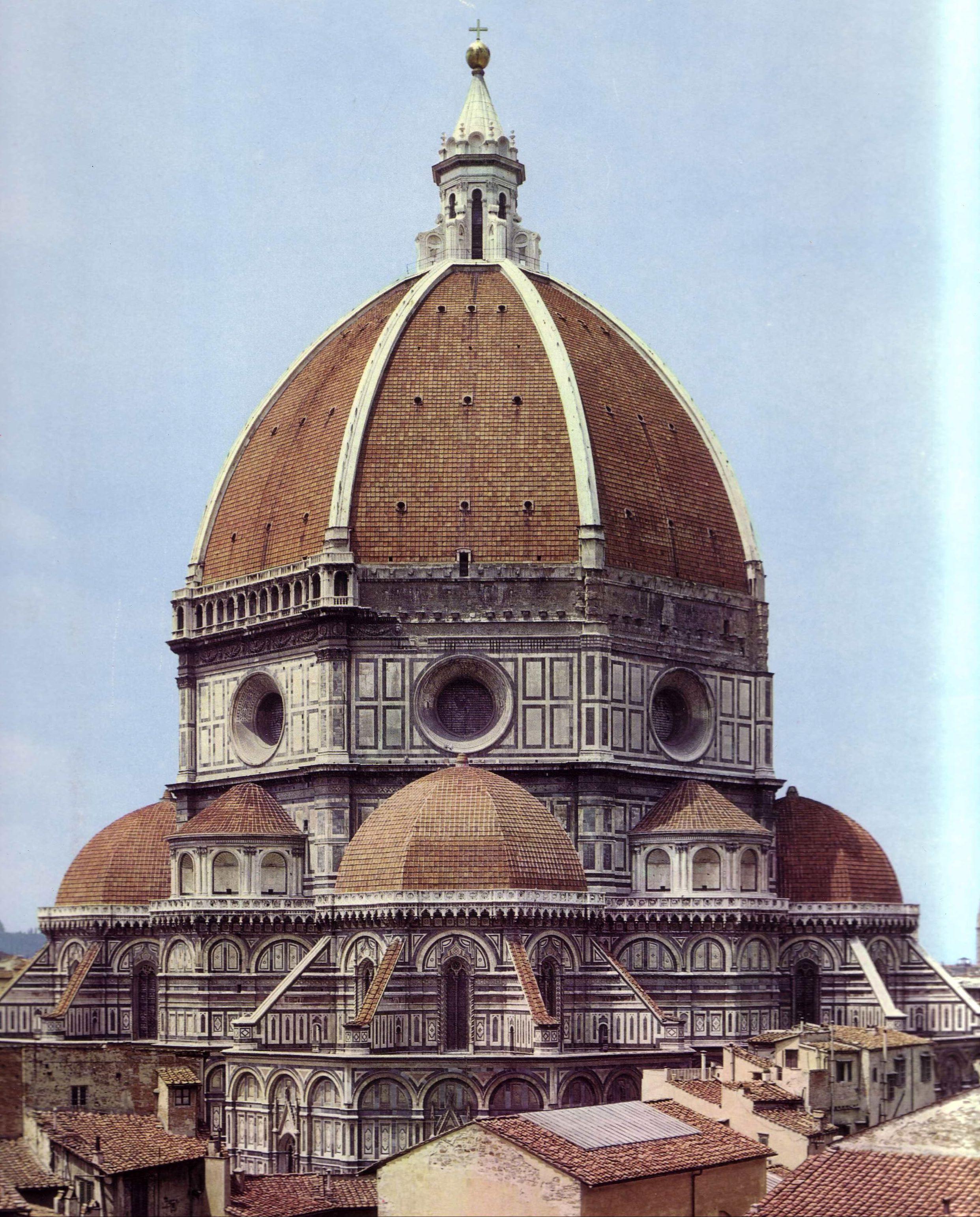 Santa María Del Fiore Cúpula De Brunelleschi Quattrocento Renacimiento Italiano Arquitectura Renacentista Renacentismo Arquitectura Catedral
