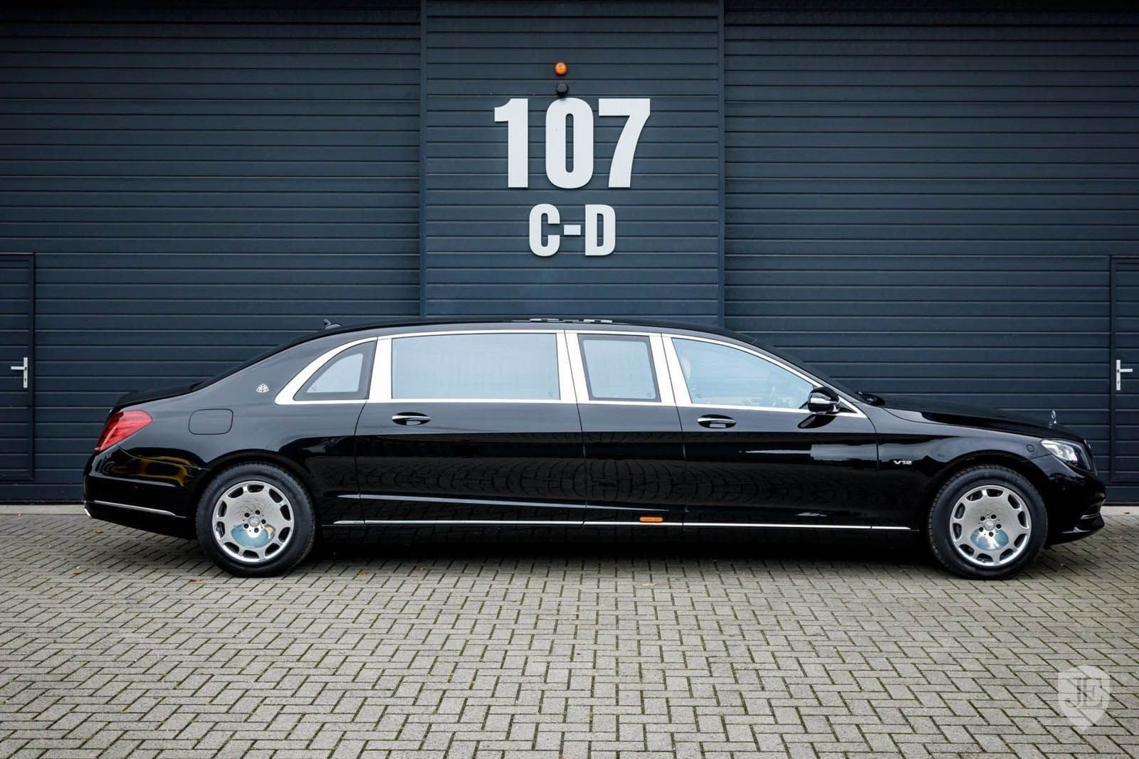 830k For A Mercedes Maybach S600 Pullman Is Quite A Stretch
