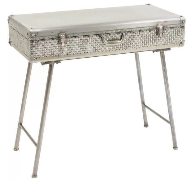 Hall Console Table Vintage Metal Side Tables Lamp Stand Cabinet Living  Furniture