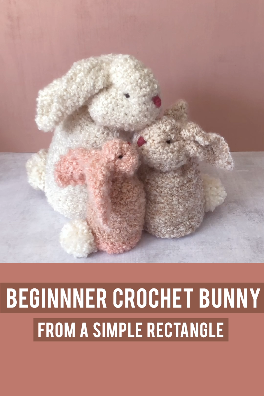 Photo of The easiest crochet bunny ever!