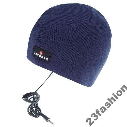 Czapka Airwalk Zimowa Ciepla Sluchawki Mp3 Mp4 3692485765 Oficjalne Archiwum Allegro Riding Helmets Airwalk Helmet