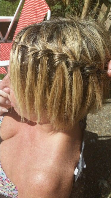 Waterfall braid :-)