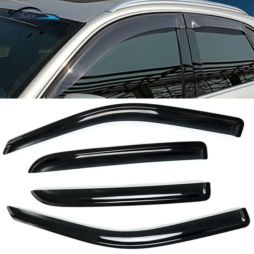 Ebay Sponsored For Ford Explorer 2011 2019 Vent Visor Window Sun Guards Deflector Out Channel Ford Explorer Dodge Ram 1500 Crew Cab
