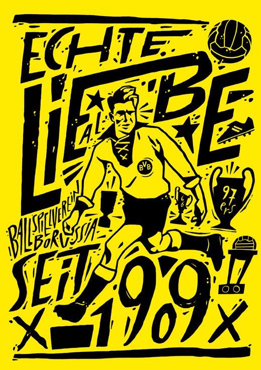 Lawerta Ilustrador Bvb Dortmund Borussia Dortmund Bvb Borussia