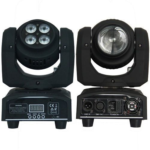 High Quality 2 Side 4x10w Wash 1 10w Beam Cree Led Moving Head Light Stage Dj Cree Led Cree Beams