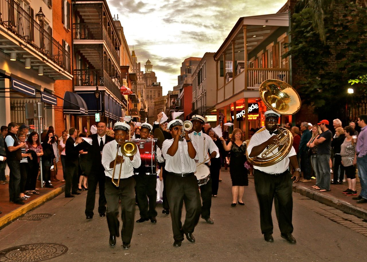Pin By Chelsea Mitchell On C C Wedding Second Line Parade New Orleans Wedding Street Scenes