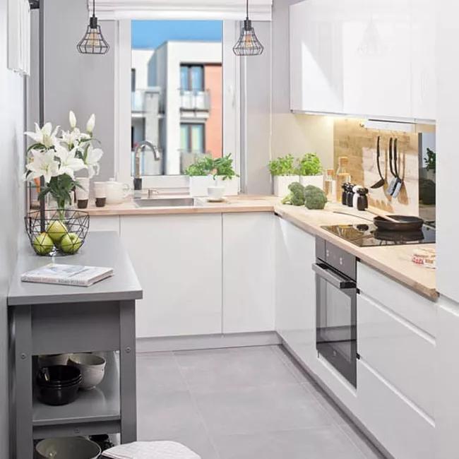Zestaw Modulowych Mebli Kuchennych Unik Bialy 1 8 M Modulowe Castorama Home Decor Decor Kitchen