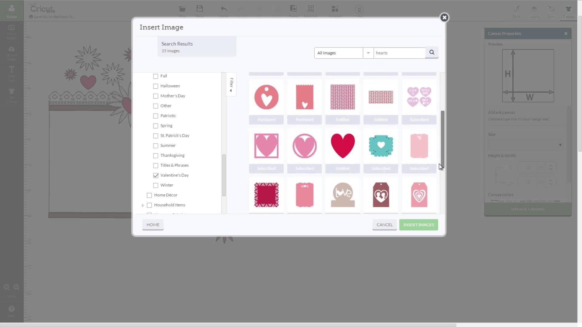 Cricut Craft Room Help: Cricut Design Space - Image Search (+playlist)