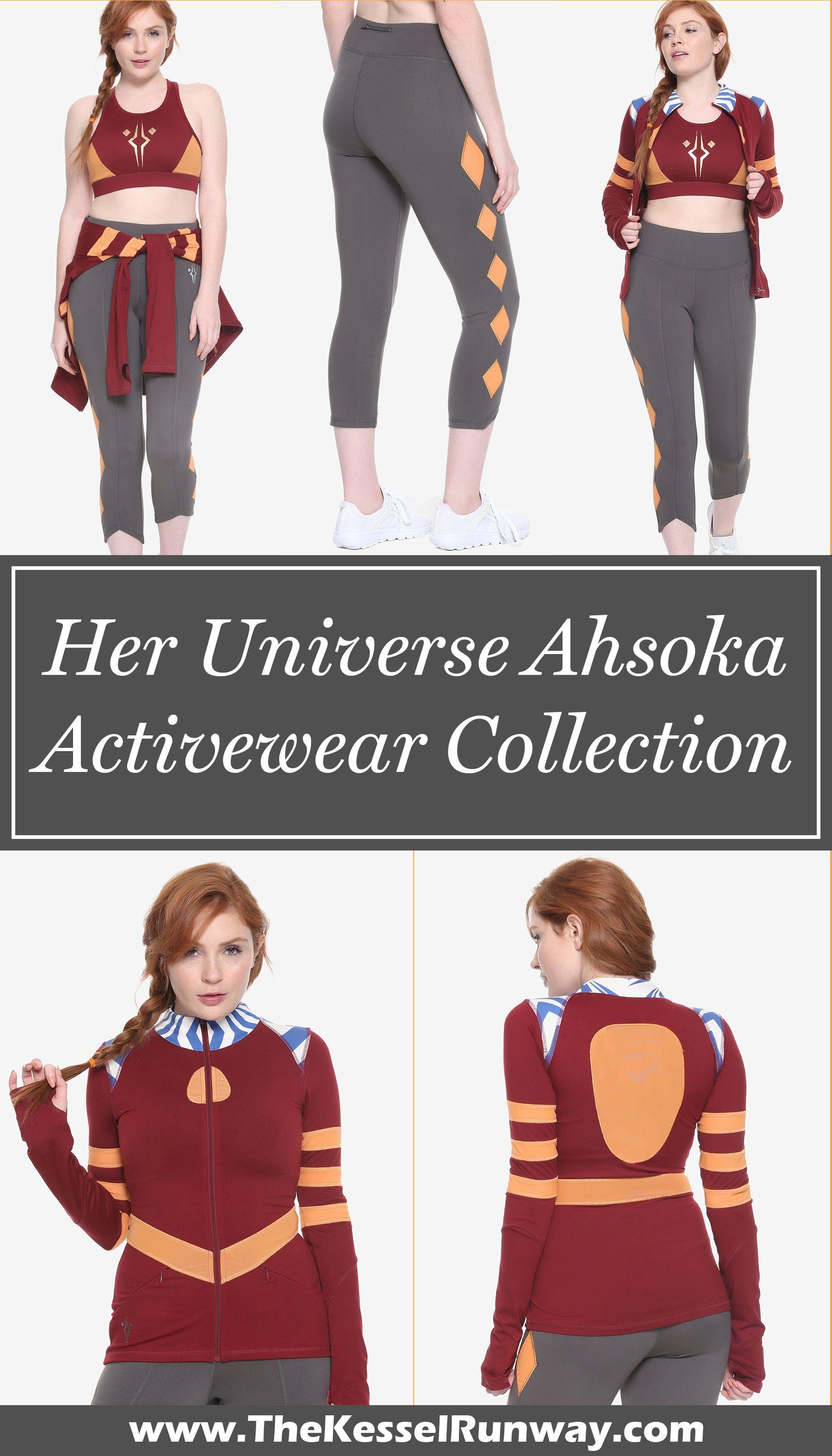 5dd689f7e5e55 Women's Her Universe x Star Wars Clone Wars Ahsoka Tano Activewear  Collection at Hot Topic ⭐