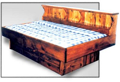 Pin By Moonfire Camper On Waterbeds Water Bed Daybed