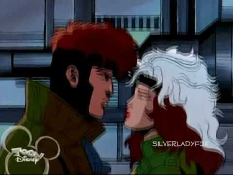 Gambit And Rogue Actual Scenes Youtube Marvel Rogue Rogue Gambit 90s Xmen Cartoon