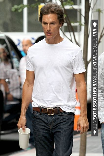 Pin On Matthew Mcconaughey Weight Loss