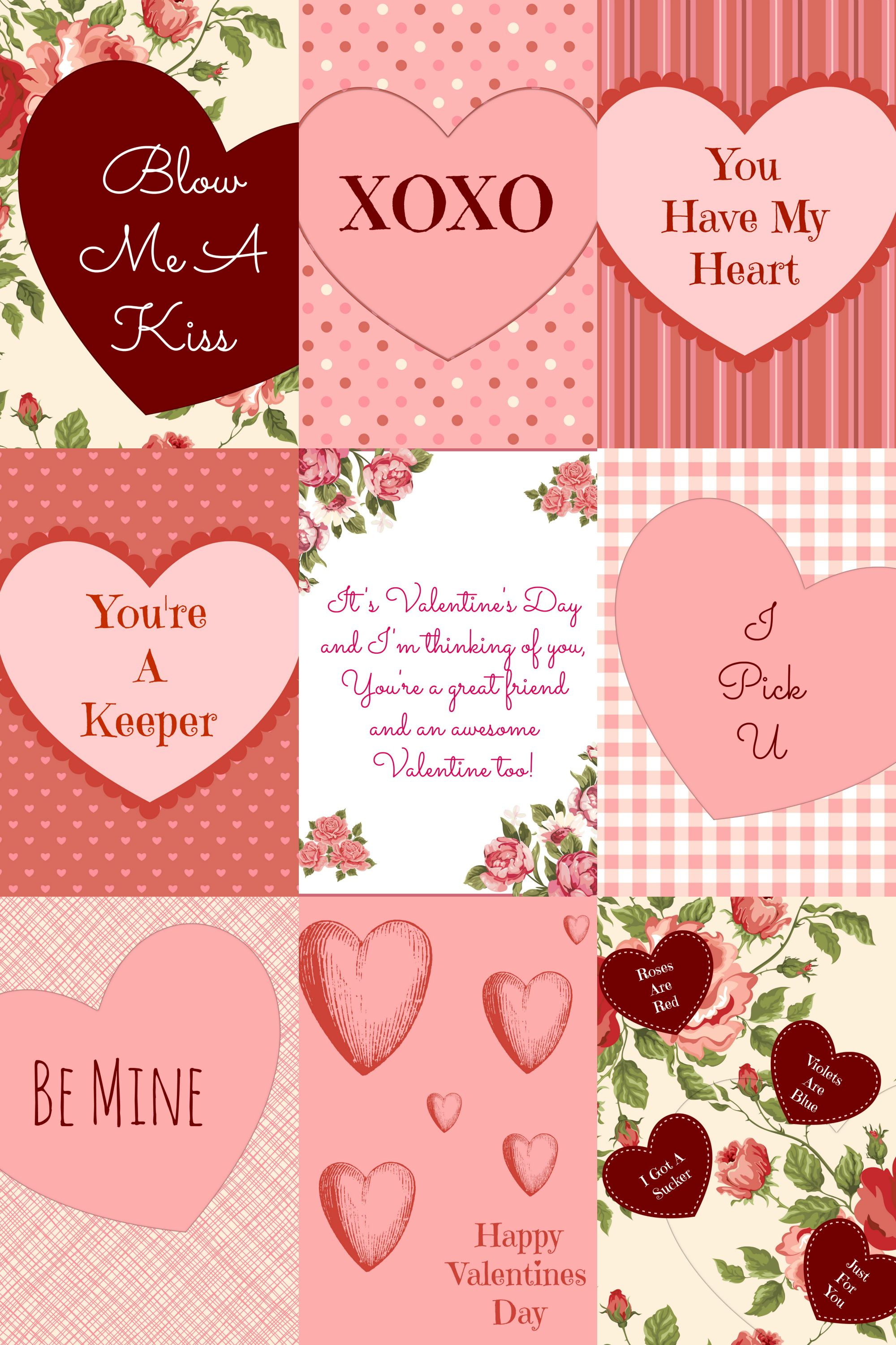 free valentine's day card printables - | free and easter, Ideas