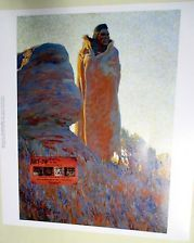 MEDICINE ROBE Indian in Robe Nixon Print Buffalo Bill Historical Center Museum $24.00 Just look for this print on EBAY seller is OLDWEST