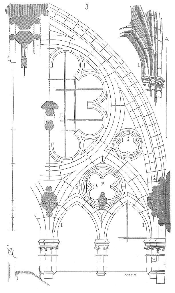 Meneaux Fenetre Cathedrale Amiens 3 Gothicarchitecture Arc