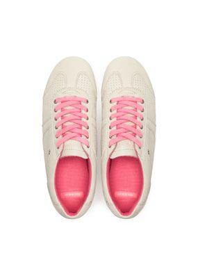 Sports Shoes Footwear Pull Bear Turkey Trainers Fashion Sports Wear Women White Sneaker