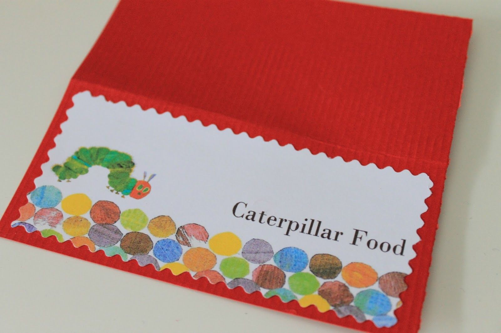 Make it Cozee: Very Hungry Caterpillar Party Favor Printables