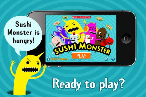Math Coach S Corner Appy Hour Sushi Monster Math Facts Sushi Monster Monster Math