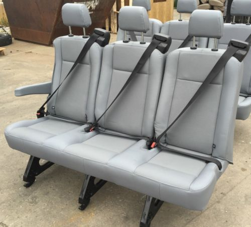 Pleasing New 2015 Ford Transit Van Passenger Vinyl 3 Person Couch Gmtry Best Dining Table And Chair Ideas Images Gmtryco