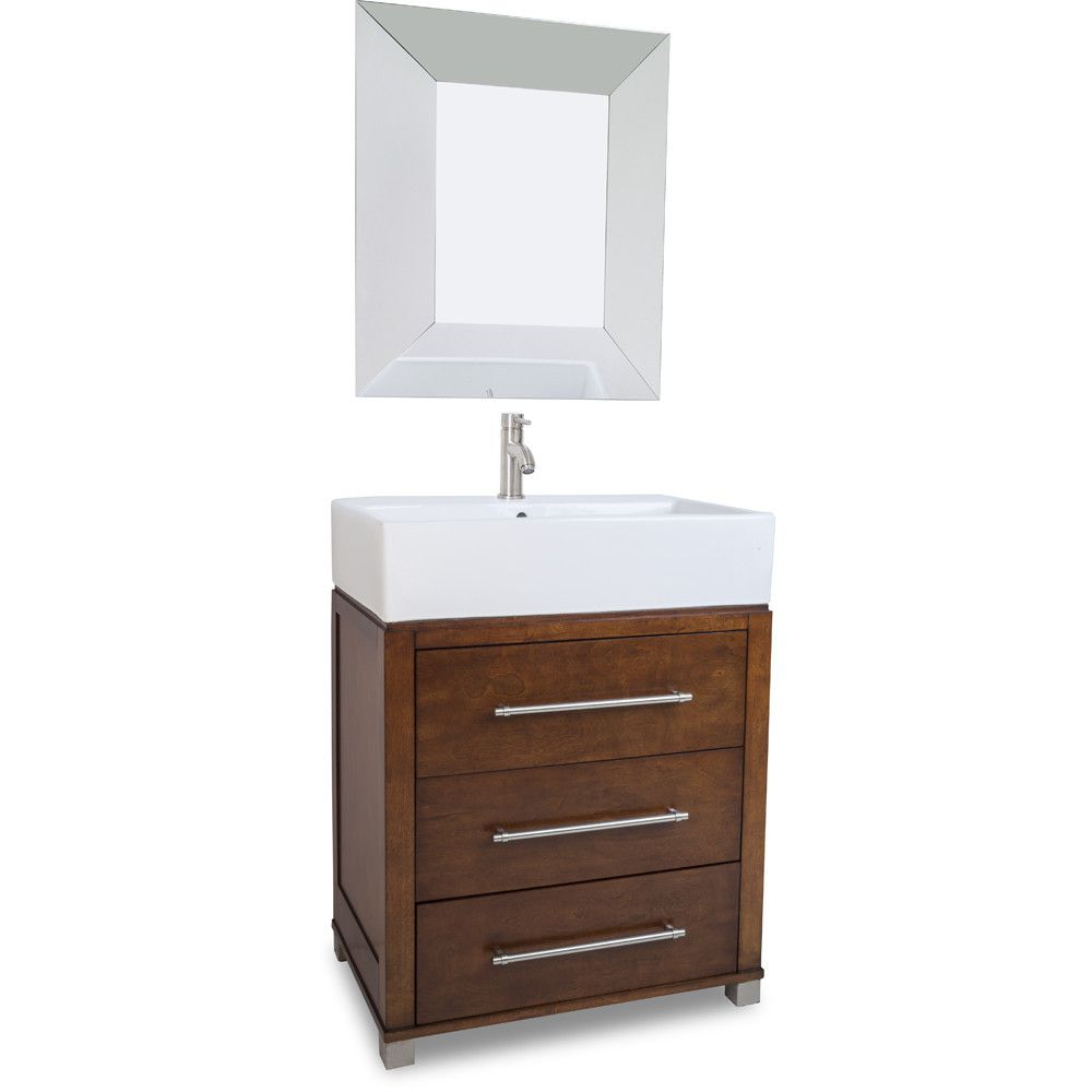 Briggs 28 Inch Jeffrey Alexander Vanity Simple Bathroom Renovation Single Sink Vanity Transitional Decor