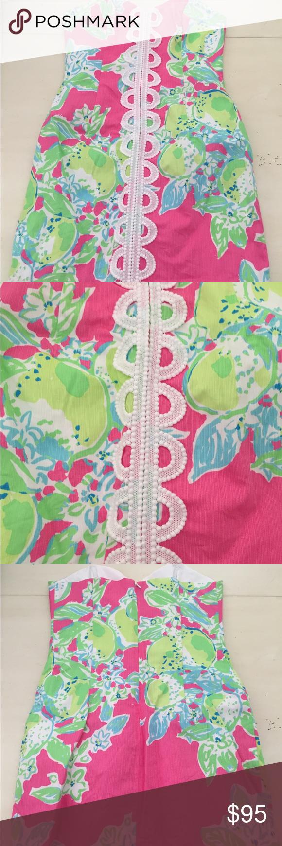 Lily strapless dress