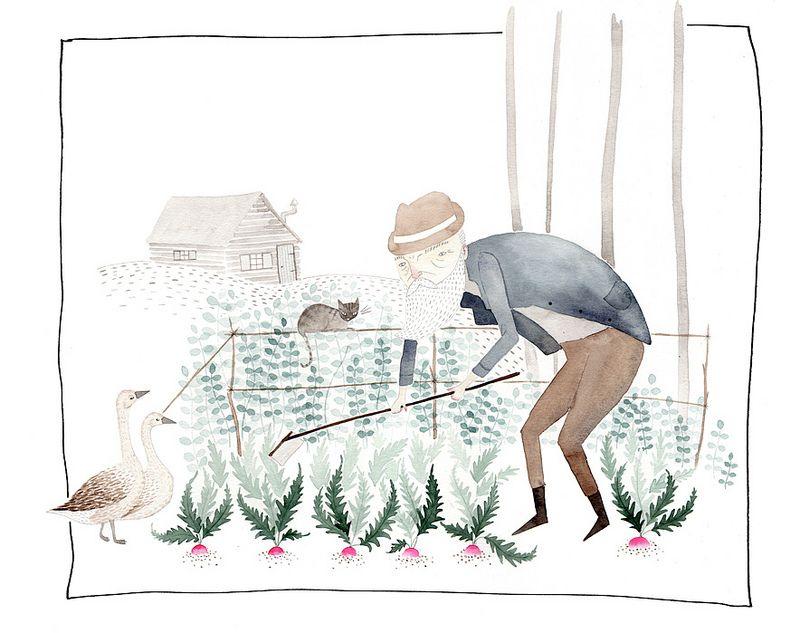 Turnip Farmer by Julianna Swaney